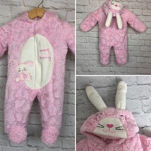 Babies R Us sweet snow bunny snowsuit